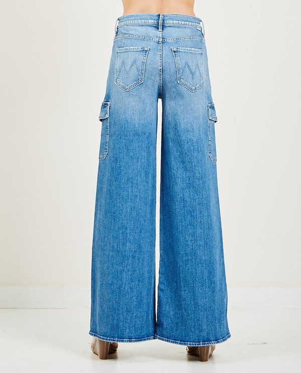 Mother Denim The Undercover Cargo Sneak Jeans - Sugar And Spice