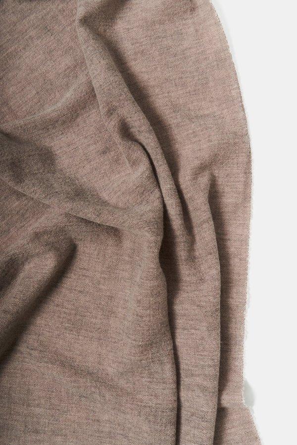 Oyuna Ambra Woven Luxury Wool/Cashmere Shawl - Earth
