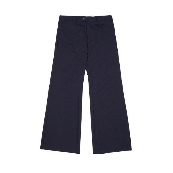 MARTINE ROSE Wide tailored pants - Blue