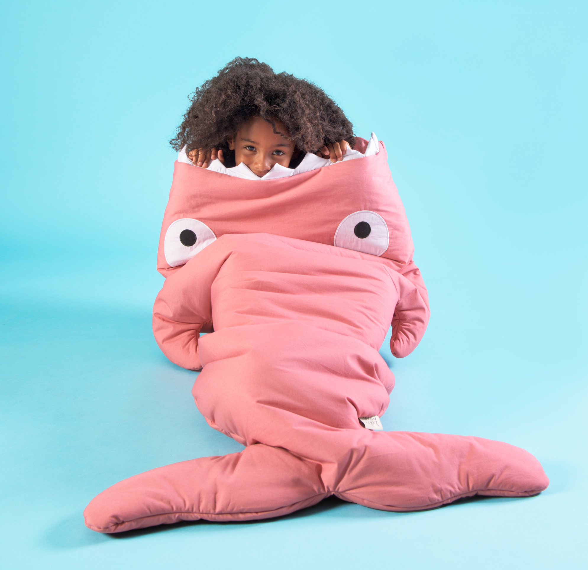 check out 75c3a 3c91e Baby Bites Big Kids Sleeping Bag in Pink - Coucou Boston