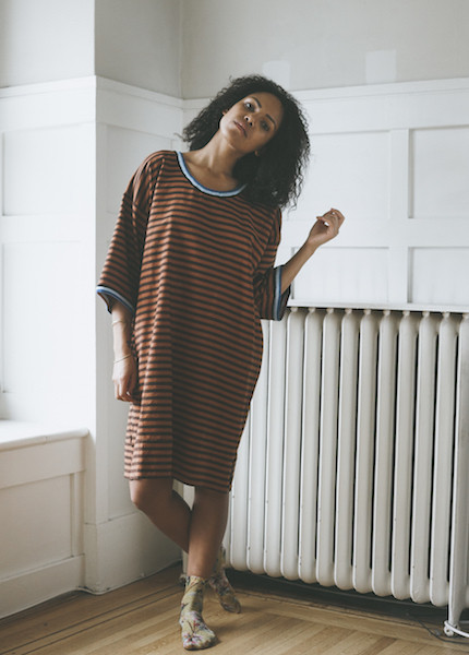 Proud Mary Long Sleeve Tunic in Copper