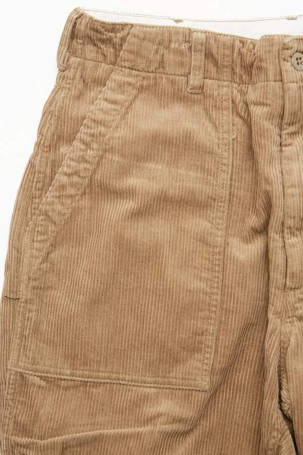 Engineered Garments Fatigue Pant in Corduroy - Khaki