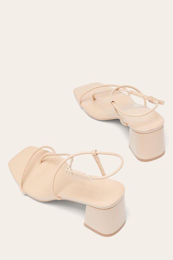 Nelson Made Juliette II sandals - Sand