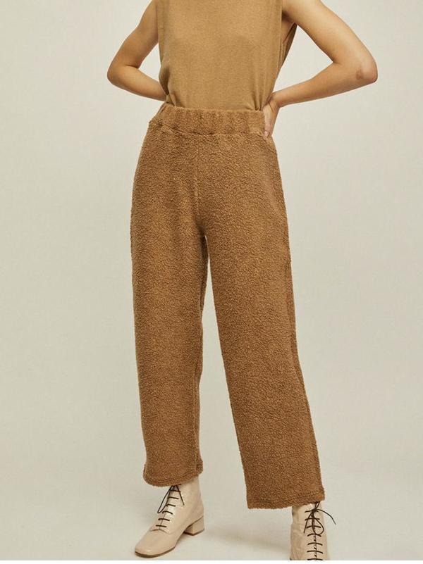 Rita Row Boucle Pants - Bright Orange