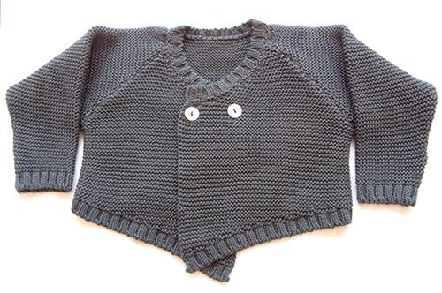 Le Toit De La Lune Grey & Ecru Knit Set - Coucou Boston