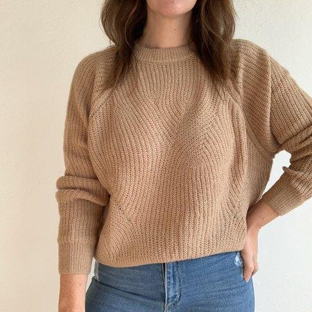 Descendant Knit Sweater - Camel
