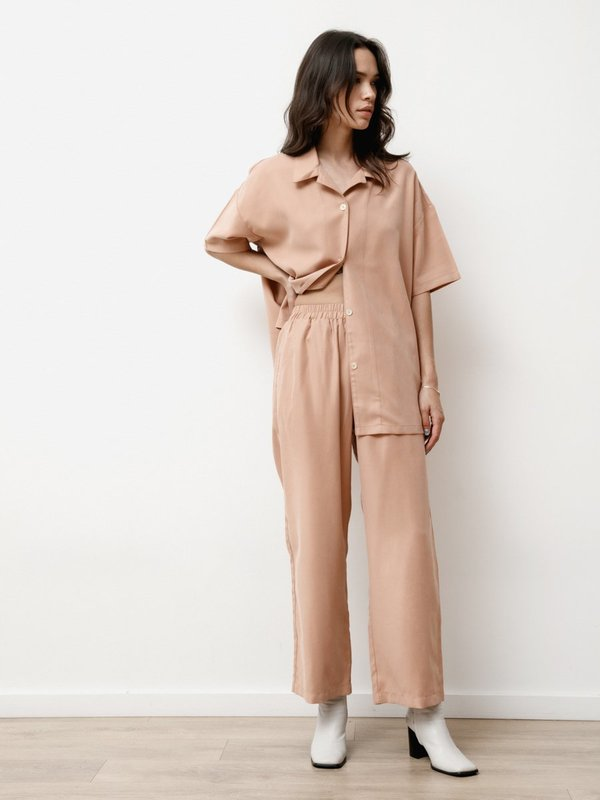 Priory Vista Modal  Pant - Dusty Pink