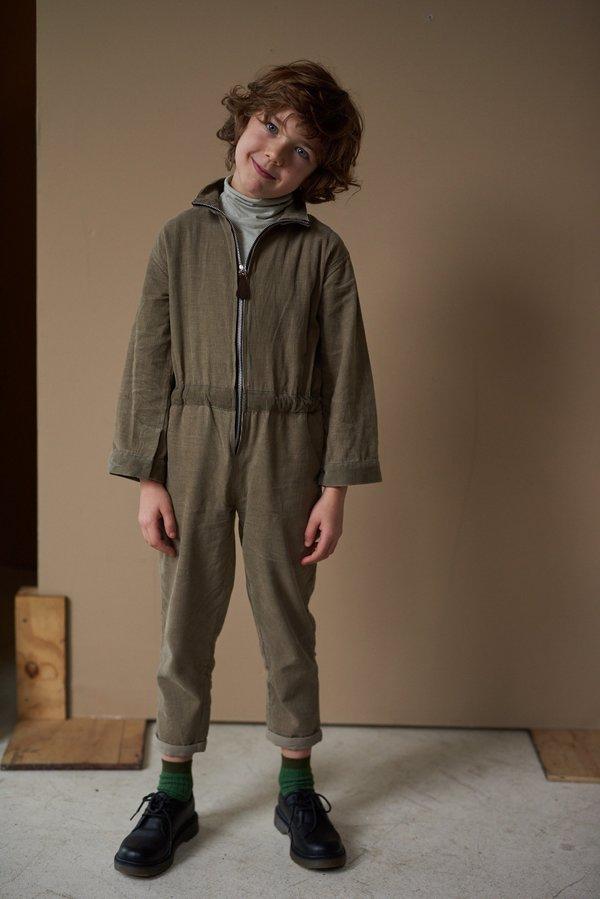 Kids Caramel Hobby Jumpsuit - Birch