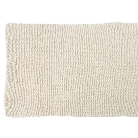 Zilalila White Garter Blanket - Dodo Les Bobos