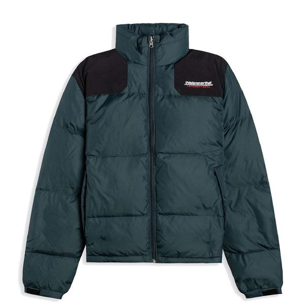 ThisIsNeverThat SP-International Sport Down Jacket - Green