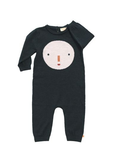 Kid's Tiny Cottons BIG FACE ONEPIECE KNIT