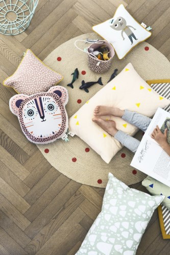 Kid's Ferm Living BILLY BEAR CUSHION - VARIOUS COLORS