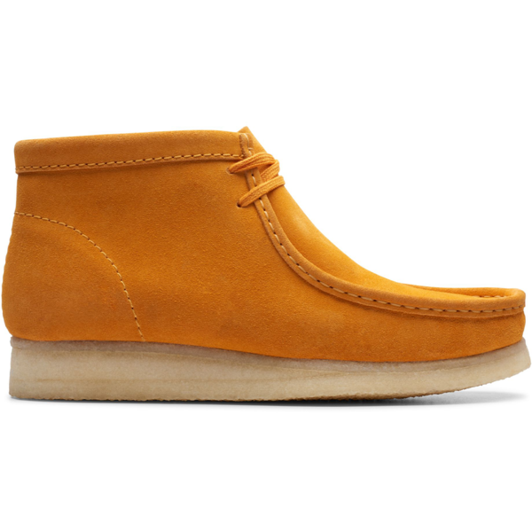 Clarks Wallabee Boot - BURNT YELLOW SUEDE