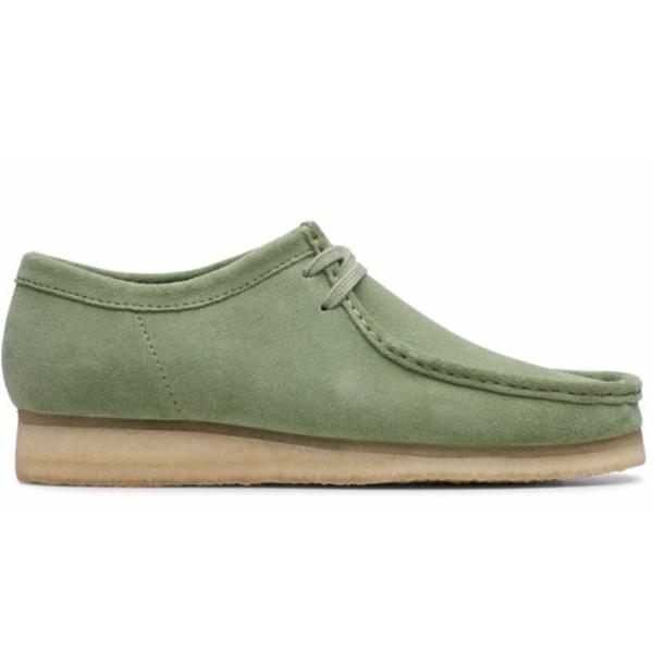 Clarks Wallabee Boot - Cactus Green