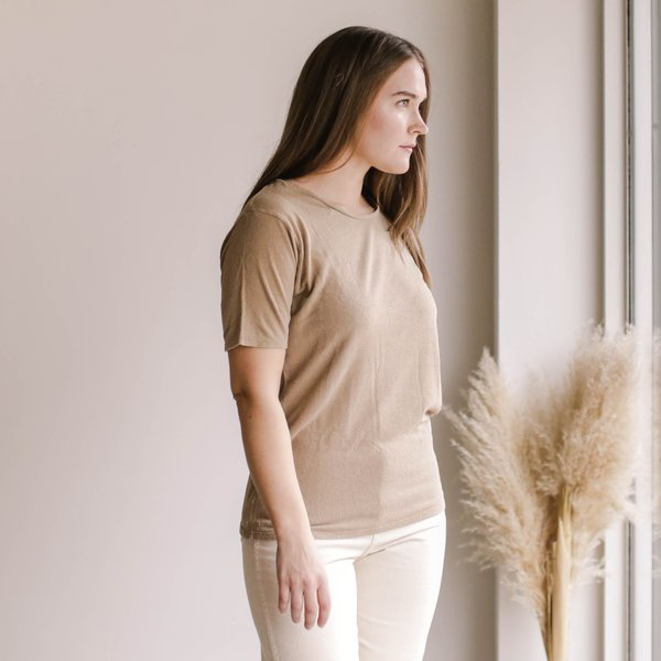 Ozma Oversized Tee - Tea