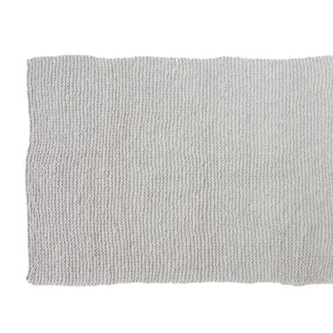 Zilalila Light Grey Garter Blanket - Dodo Les Bobos