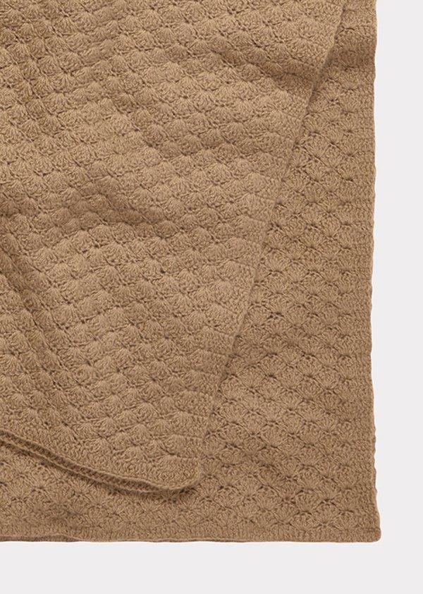 Kids Caramel Lark Baby Blanket - Camel