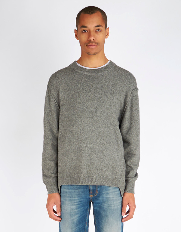 Cotton Organic Garmentory Men's Yak Melange Grey K Filippa Sweater tqtSvA