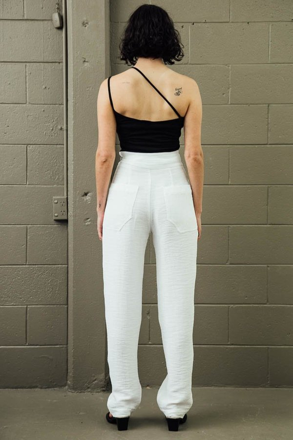 Rachel Mills Bon Crinkle Crepe Pants