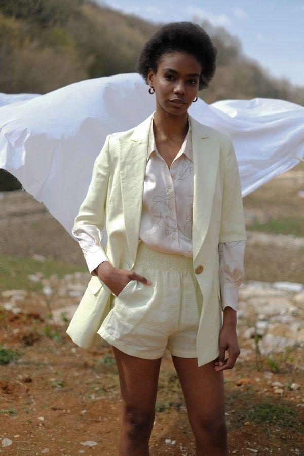 OhSevenDays Thursday Bahama Blazer - Lime