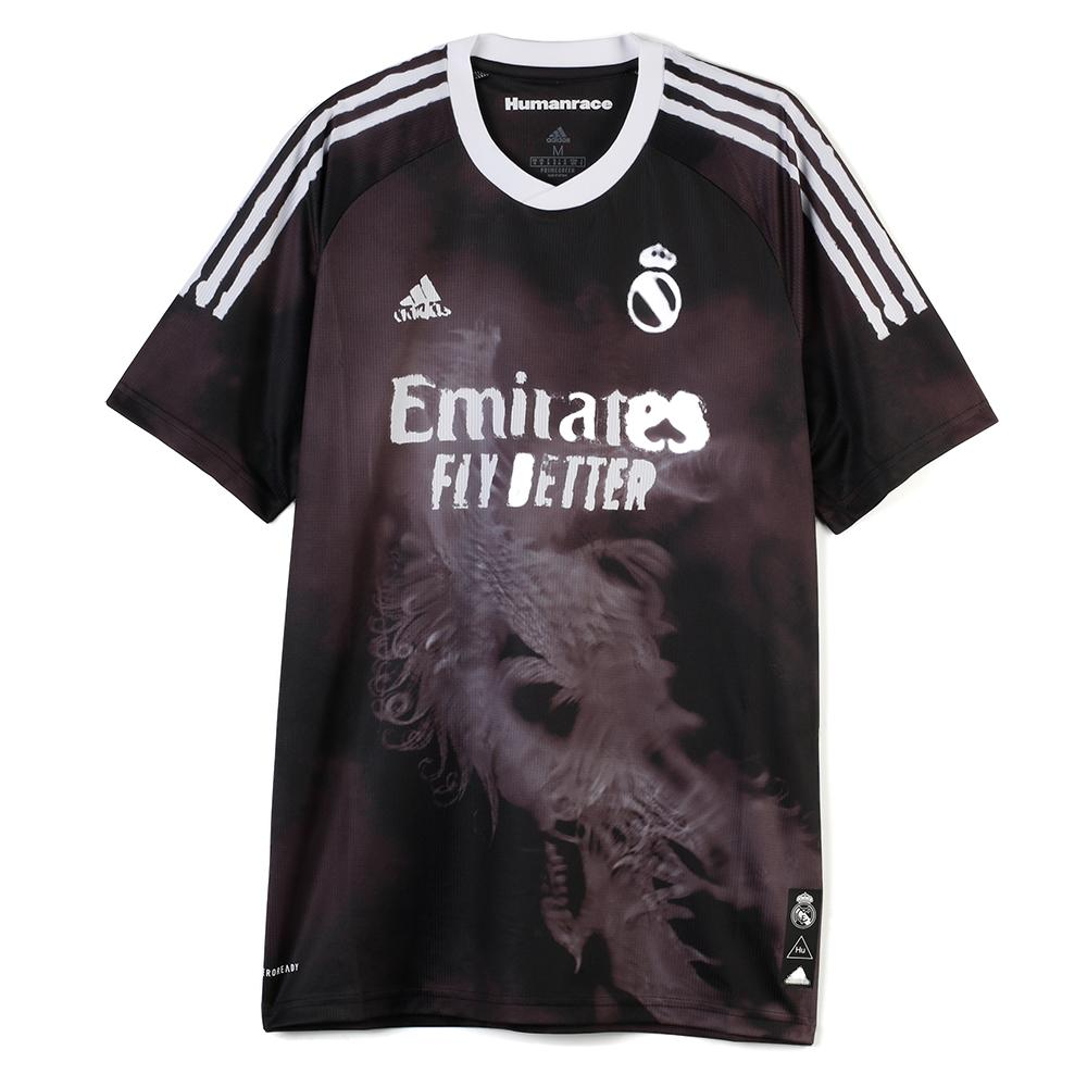 adidas pharrell williams real madrid human race fc jersey black garmentory garmentory