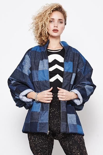 Mary Meyer Quilted Jacket - Patchwork