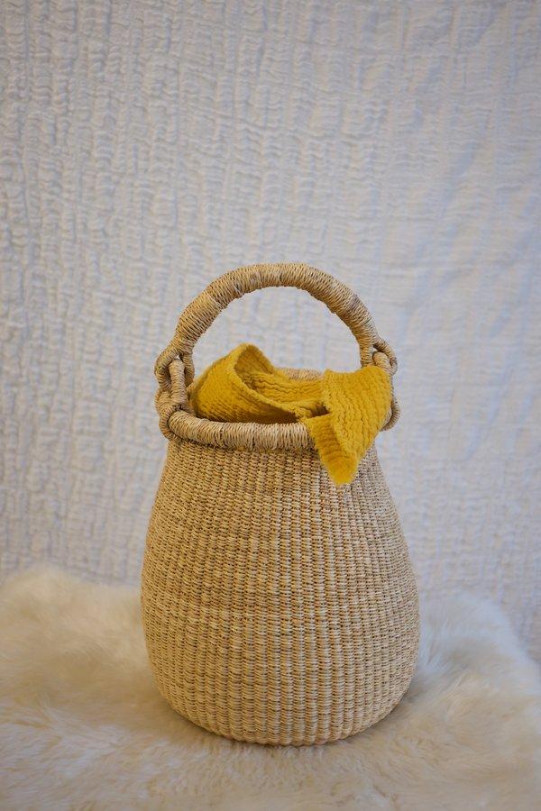 TWENTY ONE TONNES Elephant Grass Egg Basket