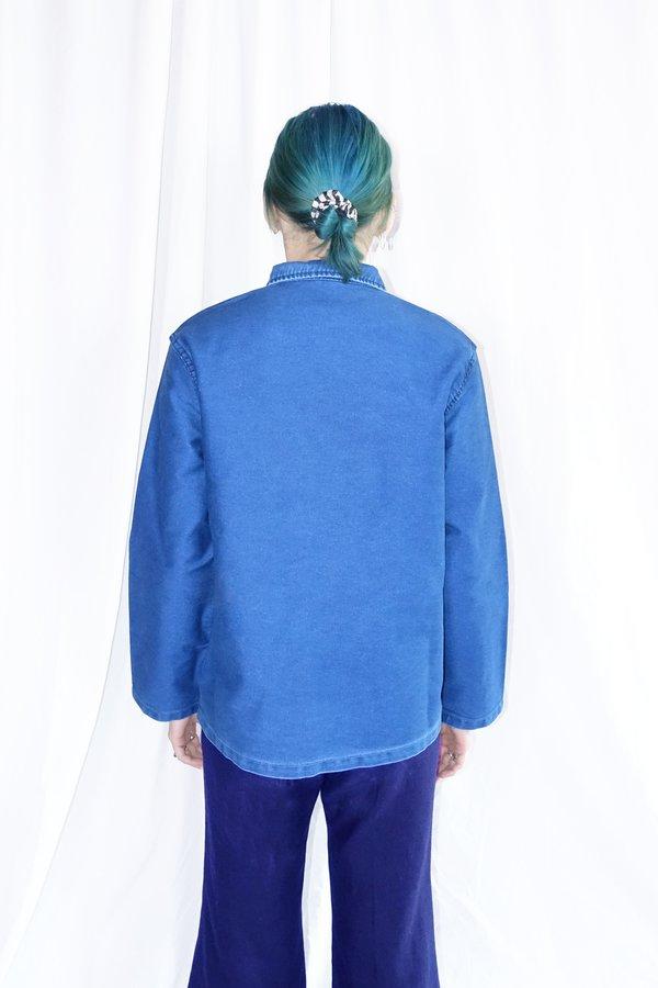 Caron Callahan Krasner Jacket - Indigo Moleskin
