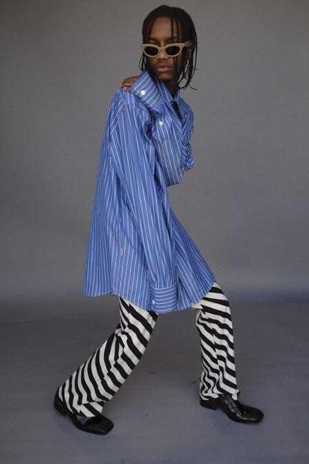 Marni Oversized Shirt - Blue Stripe