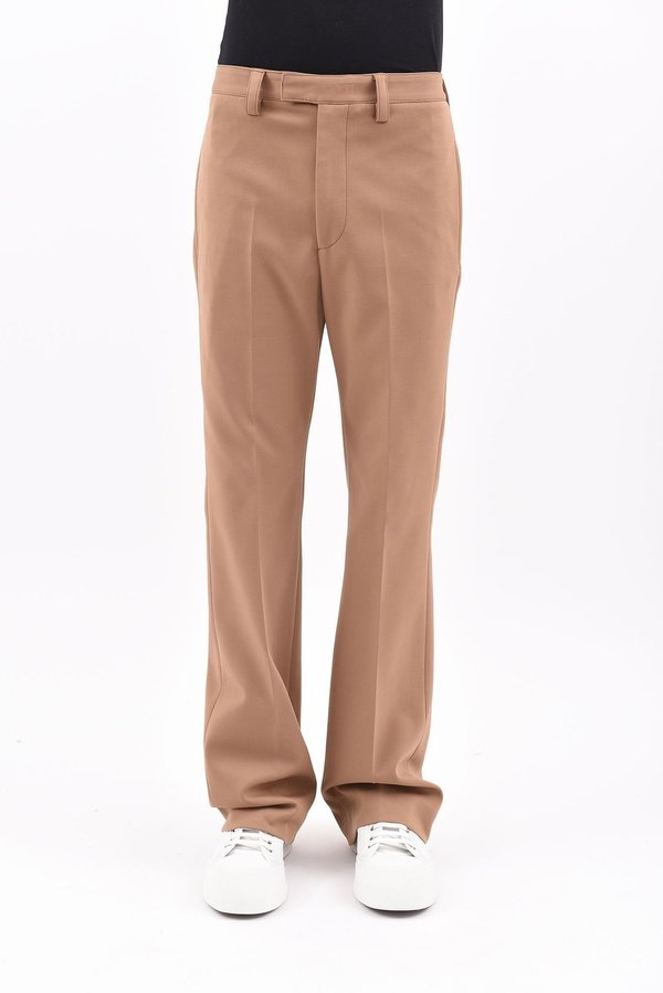 Marni Techno Jersey Flared Trouser - Nude