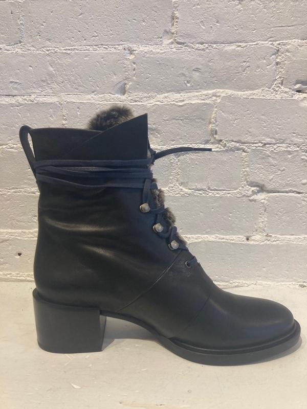 Coclico Mack Heeled Boot - Black