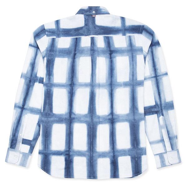 Kardo Adrien Shibori Shirt - Natural Indigo