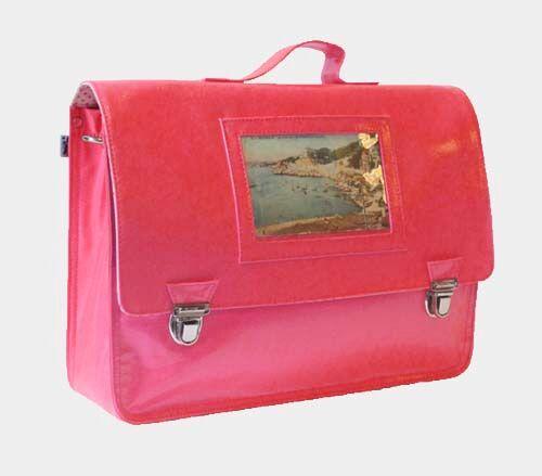 Miniseri Pink Photo School Bag - Dodo Les Bobos