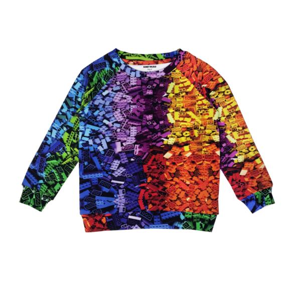Unisex Romey Loves Lulu Building Blocks Sweatshirt