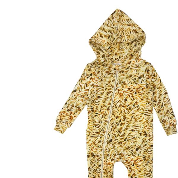 Kids Romey Loves Lulu Ramen Zippered Hoodie Spacesuit