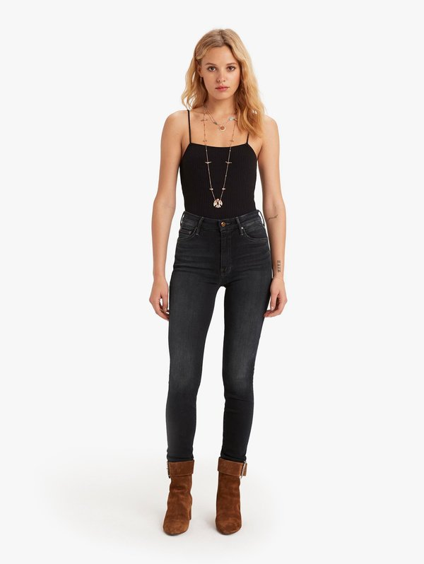Mother Denim High Waisted Looker - Coffee, Tea or Me?
