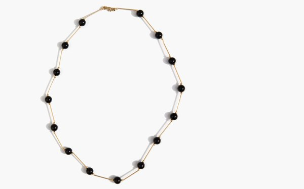 Kindred Black Danvers Necklace - 14k gold