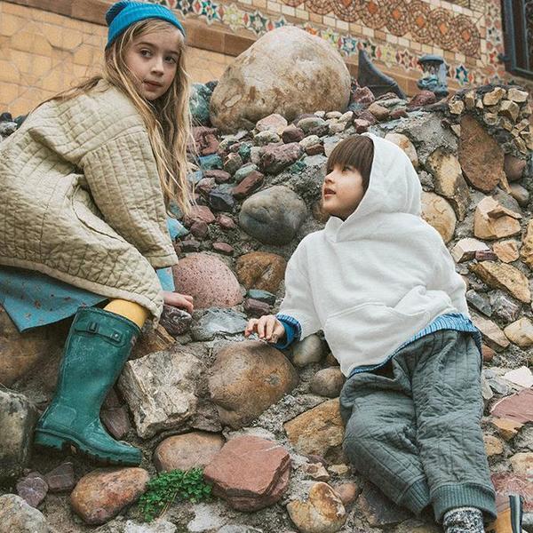 KIDS UNISEX Nico Nico Child Henri Fleece Hooded Sweatshirt