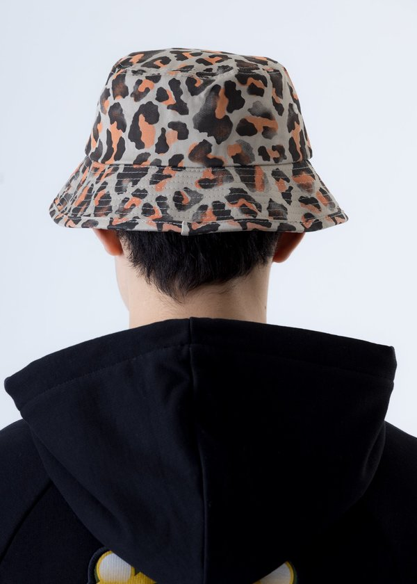 etudes Training Hat Patch - Leopard