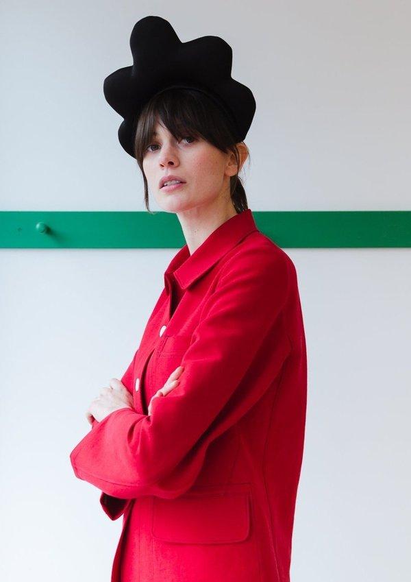 Caron Callahan Tomo Jacket - Crimson