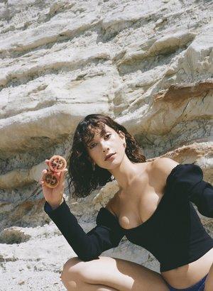 Jasmin Sparrow Cherry Earrings - Gold