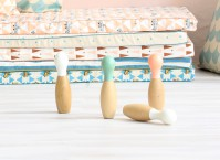 Nobodinoz Wooden Bowling Set - Norman & Jules