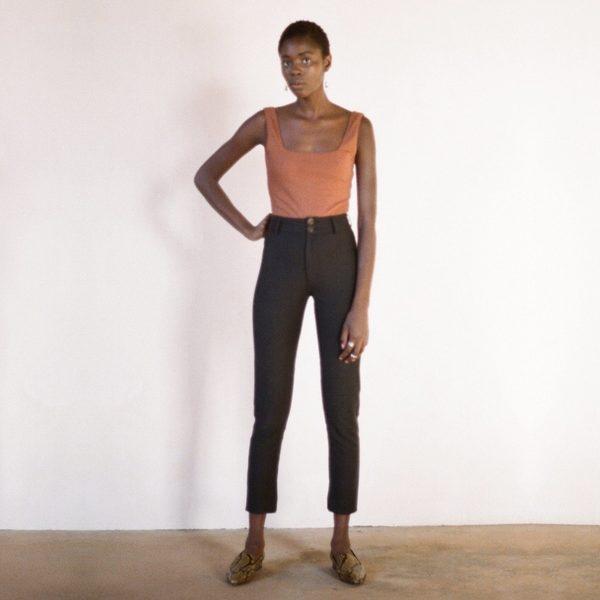 Maria Stanley Bodysuit - Tobacco