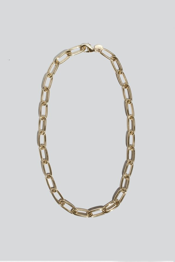 Young Frankk Classic Chain Necklace - Gold