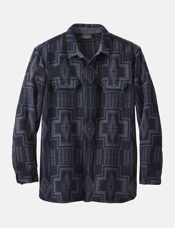 Pendleton Driftwood Shirt - Black/Grey