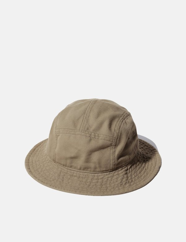 Snow Peak Takibi Duck Hat - Olive Green