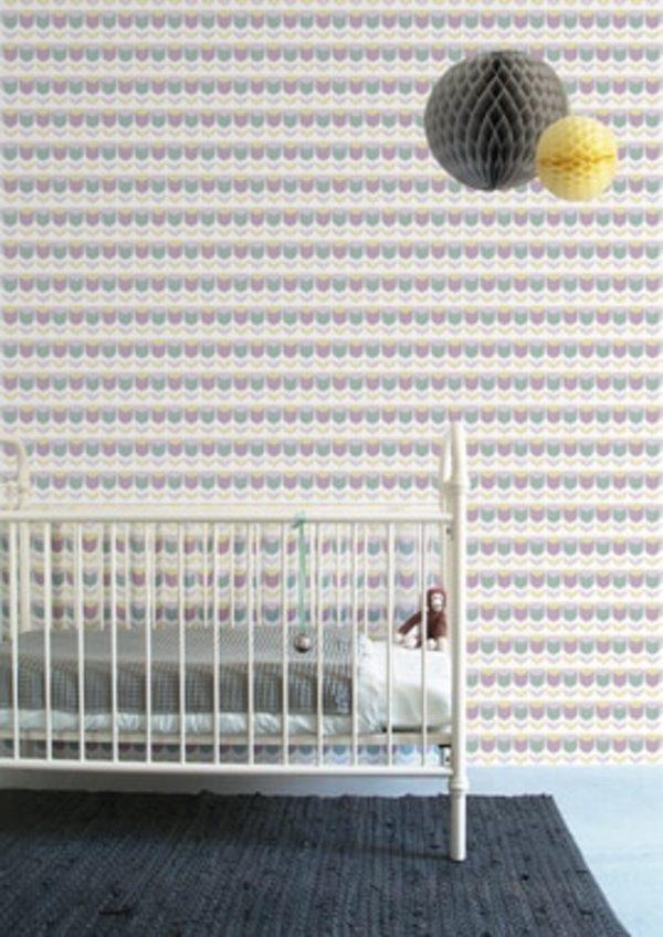 Inke TULIP WALL PRINT - LILAC