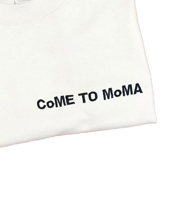 UNISEX House of 950 CoME TO MoMA embroidery tee shirt