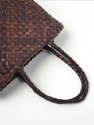 Dragon Jacky Bucket Without Lining - Dark Brown