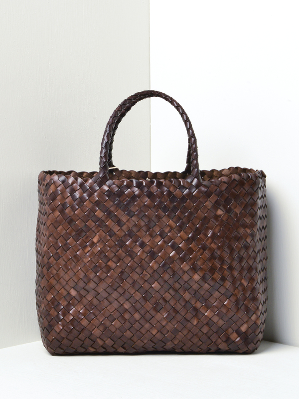 Dragon Lunch Basket Without Lining - Dark Brown